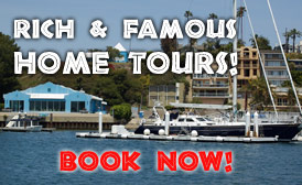 Rich and Famous Home Tours - Book Now!