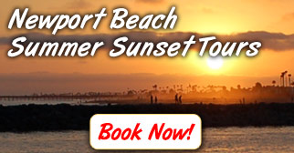 Newport Beach Summer Sunset Tours - Book Now!
